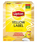 Чай LIPTON YELLOW LABEL 1,6г*100пак