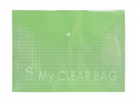 Папка-конверт MY CLEAR BAG асс. A4 12шт